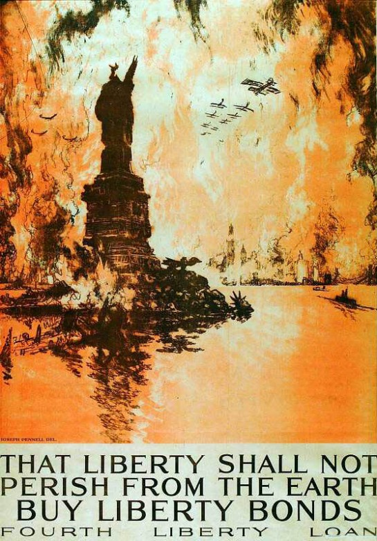 Liberty shall not Perish (1918).