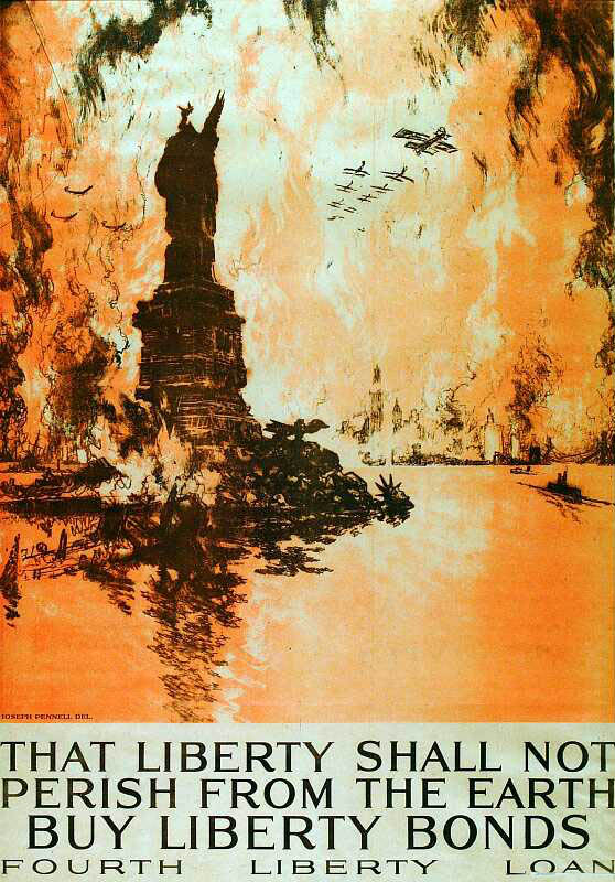 Liberty shall not Perish (1918).