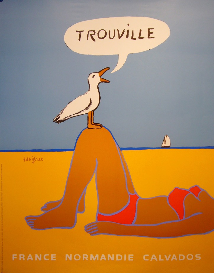 Trouville Poster by Savignac