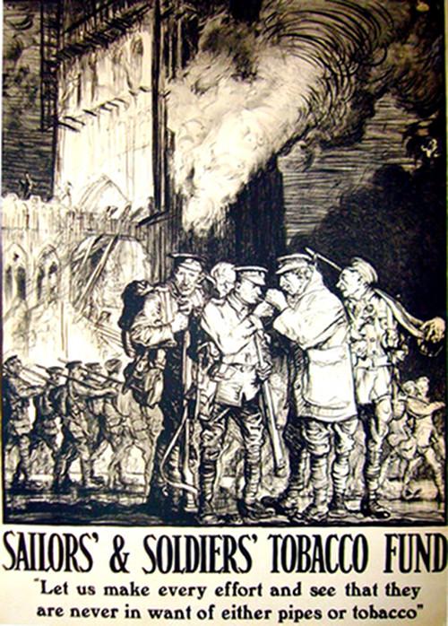 1915  Soldiers/ Sailors Tobacco Fund - Brangwyn