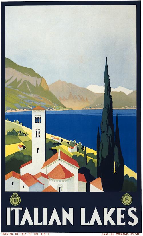 Italian Travel Poster