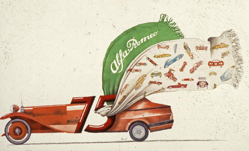 Kilometers An Hour In An Alfa Romeo Julietta Now Thats The - Alfa romeo posters
