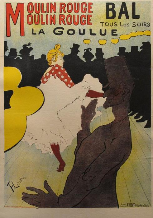 Exhibition Poster of the Famous Goulue