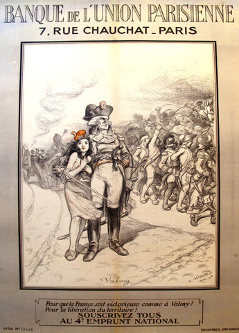 Two Willette's from the L'Affichiste collection. We think the girl on the left looks just like Kristina (well, I do!)