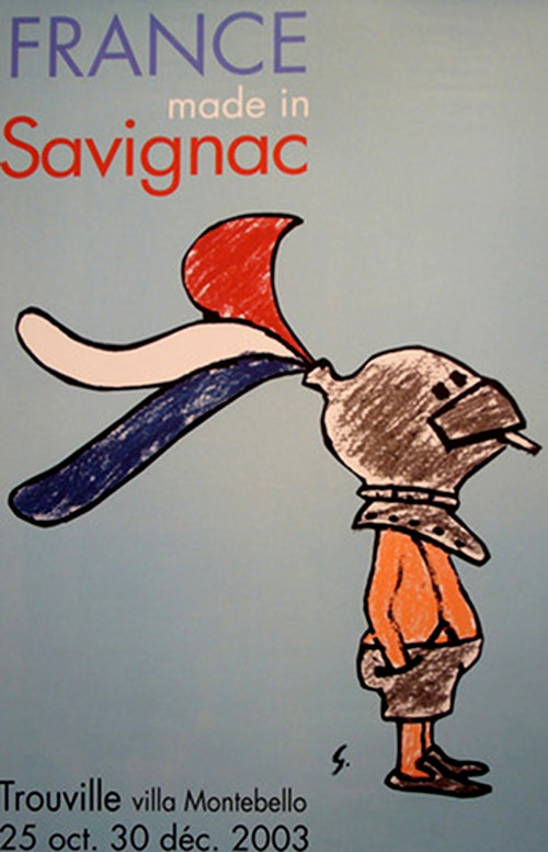 Savignac - Made in France Poster.