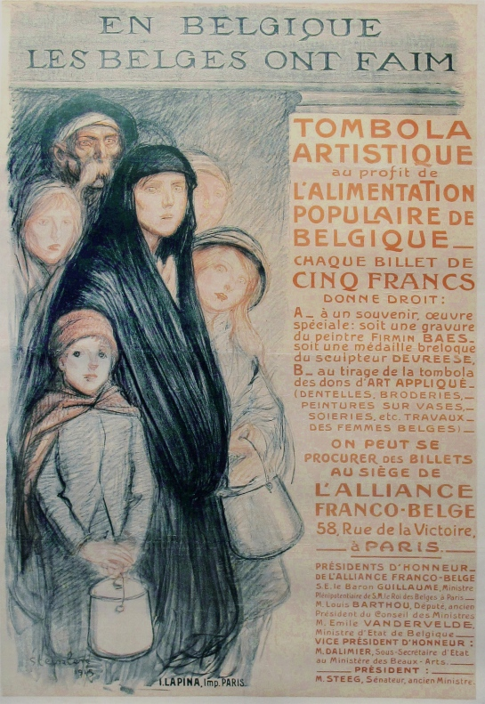 Steinlen Poster from WWI