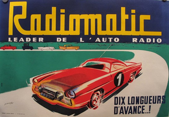 1953, Radiomatic Car Radios - P. Dumont