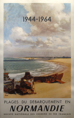 Societe_Nationale_des_chemins_de_fer_Francais_1944-1964_Plages_Normandie_24.5x39_large