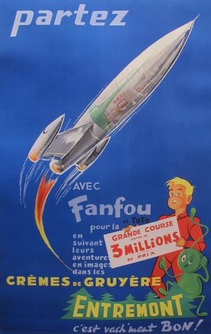 If there's no room on Branson's craft, perhaps you can hitch a ride on the Entremont rocket...
